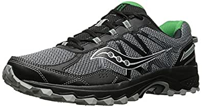 Saucony Men's Excursion TR11 Running Shoe, Grey Green, 10 Medium US