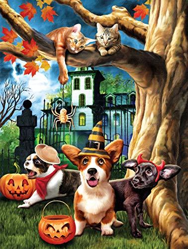 Halloween HiJinx 300 pc Jigsaw Puzzle by SunsOut ()