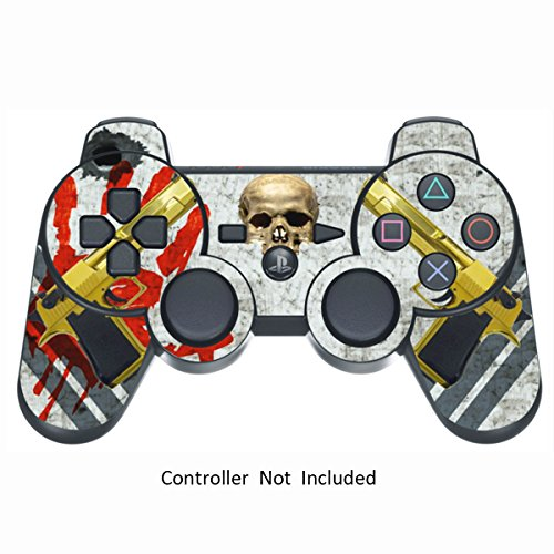Skin Stickers for Playstation 3 Controller - Vinyl High Gloss Sticker for DualShock 3 Wireless Game PS3 Controllers - Protectors Controller Decal - Ghost Ops [ Controller Not Included ]