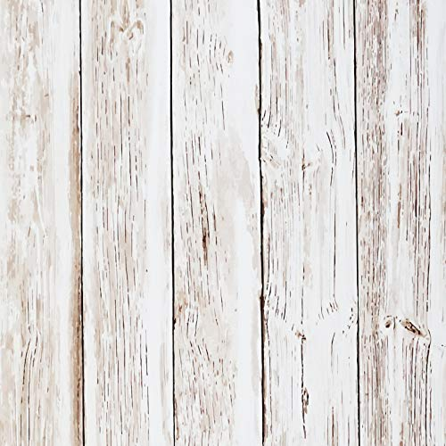 "Wood Grain Contact Paper Wood Peel and Stick Wallpaper Vintage Wood Wallpaper Self Adhesive Removable Textured Wood Panel Wallpaper Covering Decorative Vinyl Film Shelf Drawer Liner 78.7""x17.7"""