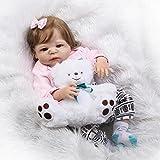 Oumeinuo Full Silicone Body Reborn Dolls Lifelike Newborn Realistic Baby...