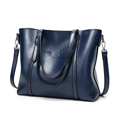 BBPPDD Tote Handbags Purse Top Blue Bag Shoulder Satchel Women Handle rpfvrq