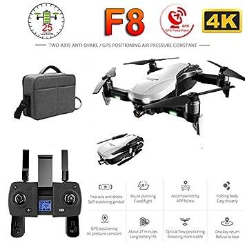 OUYAWEI F8 Drone profissional con cámara 4K HD de dos ejes ...