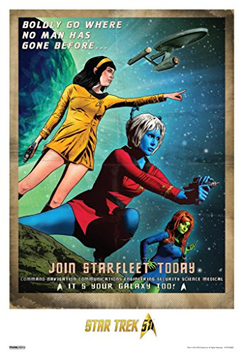 Star Trek Join Starfleet Today 50th Anniversary TV Show Poster 13x19 (Sexy Tv Stars)