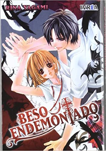 portada del cómic manga Beso endemoniado, de Rina Yagami