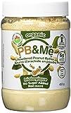 PB&Me Organic Powdered Peanut Butter - No Sugar Added, No Sugar Added, 453