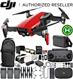 DJI Mavic Air Drone Quadcopter FLY MORE COMBO (Flame Red) EVERYTHING YOU NEED Bundle