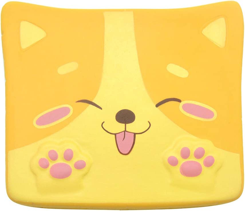 Kiibru Squishy Shiba Inu Toast Slow Rising Squishies Jumbo Bread Tongue 5.5""