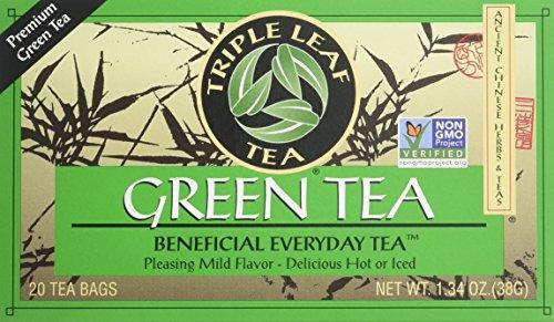 Green Tea-Premium Triple Leaf Tea 20 Bag