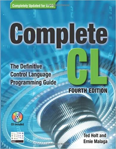Complete Cl The Definitive Control Language Programming Guide