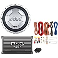 BOSS AUDIO CX122 12 1400W Car Power Subwoofer Sub Woofer+Mono Amplifier+Amp Kit