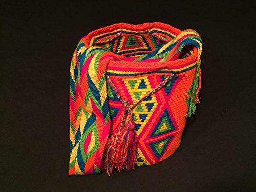 Mochila Wayuu - Bolso cruzados de algodón para mujer Decio