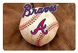 MLB Atlanta Braves Baseball Pet Mat