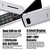 Flip Phone for Seniors 4G, Tianhoo Senior Flip