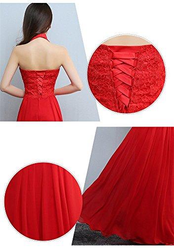 Damen Rot Drasawee Empire Drasawee Damen Kleid vqgBSxwx