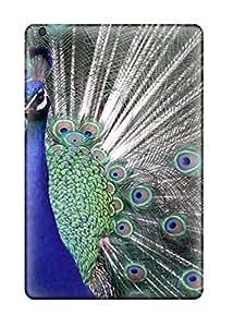 Hot Design Premium TyKwLvI1265ZOrzF Tpu Case Cover Ipad Mini/mini 2 Protection Case(peacock Wallpaper)