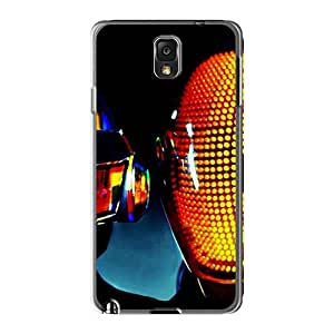 Scratch Protection Cell-phone Hard Cover For Samsung Galaxy Note 3 (HMz8204BkgP) Customized Stylish Daft Punk Pictures