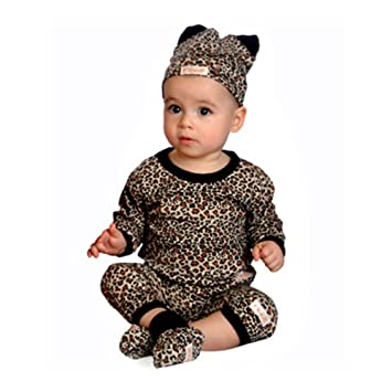 00bfb5025dbc Amazon.com : Baby Leopard Outfit. : Toilet Training Products : Baby