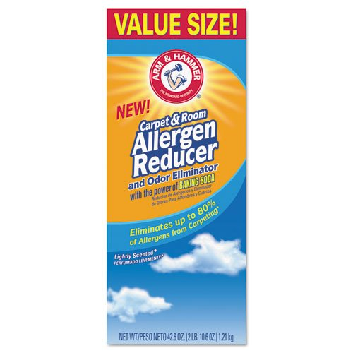 Arm & Hammer Carpet & Room Allergen Reducer & Odor Eliminator, 42.6-oz. Shaker Box (Room Allergen Reducer)
