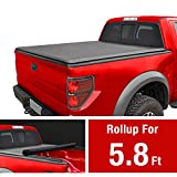 MaxMate Roll Up Truck Bed Tonneau Cover Works with 2009-2018 Dodge Ram 1500 Without Ram Box| Fleetside 5.8' Bed
