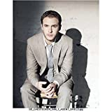 Agents of S.H.I.E.L.D. (TV Series 2013 - ) 8 inch x 10 inch Photo Iain De Caestecker/Leo Fitz Grey Suit Leaning Forward Seated kn