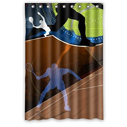 Amazon.com: Personalized Sport Tennis Theme Fantastic Tennis Design ...