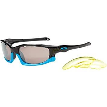 Oakley Split Jacket Sunglasses - Polarized Polished Black-Blue Black  Iridium Vented Yellow Vented, One Size  Amazon.ca  Sports   Outdoors 5eacb3555e35