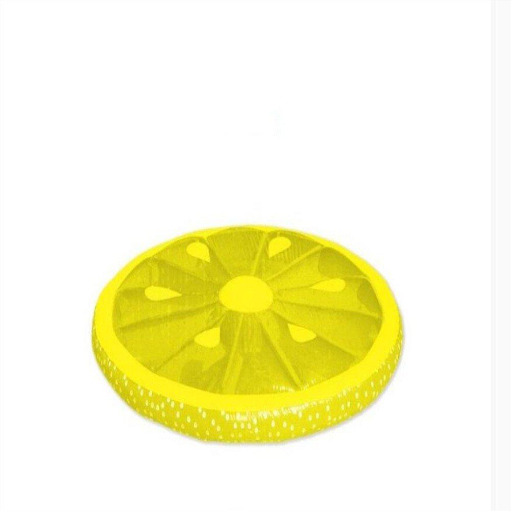 Cama Flotante Hinchable Para Adulto/Flotador Redondo Grande De Limón/Hilera Flotante Para Fruta Para Niños: Amazon.es: Deportes y aire libre