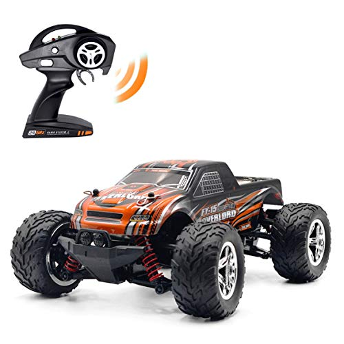 RC Rock Crawler RC Trucks, Keliwow 1/20 Scale 4WD Remote Control Car 2.4Ghz High Speed Electric RC Buggy 15.5 MPH Monster Truck (C15-Brushed-Orange)