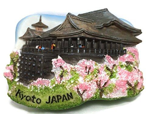 (Kyoto JAPAN Kiyomizu Dera Temple High Quality Resin 3d Fridge Magnet SOUVENIR TOURIST GIFT 078)