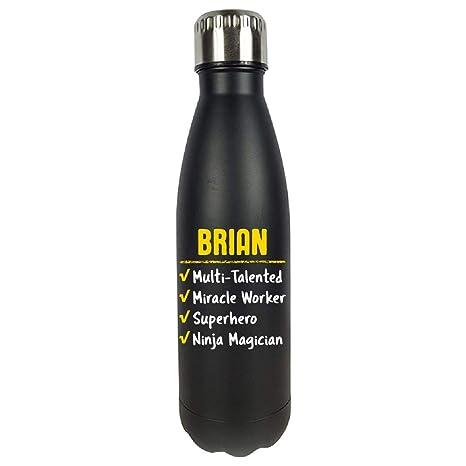Amazon.com : Brian Talented Superhero Ninja Name Pride Funny ...