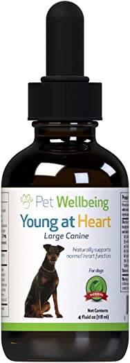 Pet Wellbeing Young at Heart For Dogs – Natural Support For Your Dogs Heart