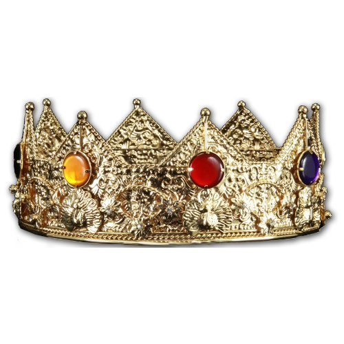 elope Gold King Crown (Crowns For Kings)