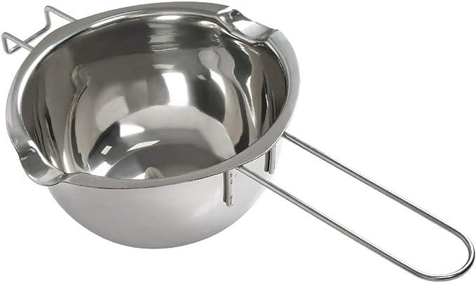 Olla para Baño María Cocinar Olla Bain-marie 600ml en Acero Inox ...