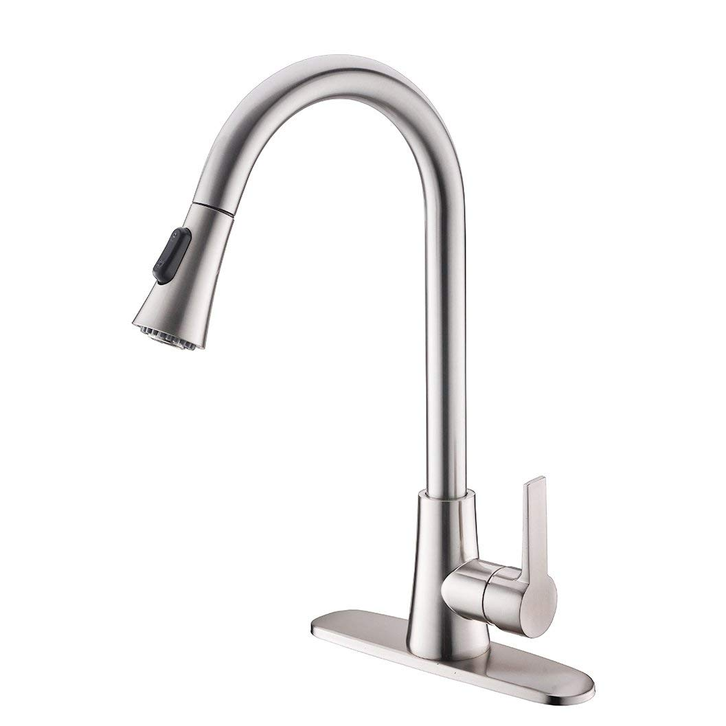 Best Rated In Touch On Kitchen Sink Faucets & Helpful