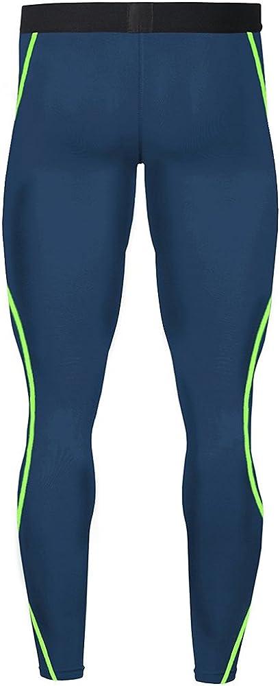 1Bests Herren Sport Laufset Kompressionsshirt Hose hauteng Langarm schnell trocknend Fitness Trainingsanzug Gym Yoga Anz/üge