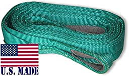 U.S. made XD RECOVERY BRIDLE - TWO-PLY (2 inch X 10 ft) (OFF-ROAD RECOVERY)