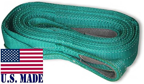 U.S. made XD TREE SAVER WINCH STRAP – TWO-PLY (3 inch X 6 ft) (OFF-ROAD RECOVERY)