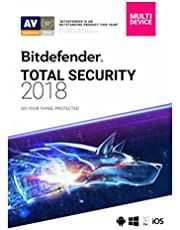 Bitdefender Total Security (PC/Mac/iOS/Android) - 5 User - 1 Year