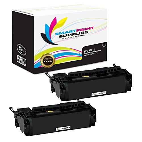 (Smart Print Supplies Compatible 4K00199 Black Toner Cartridge Replacement for Lexmark Optra M410 M412 Printers (15,000 Pages) - 2 Pack)