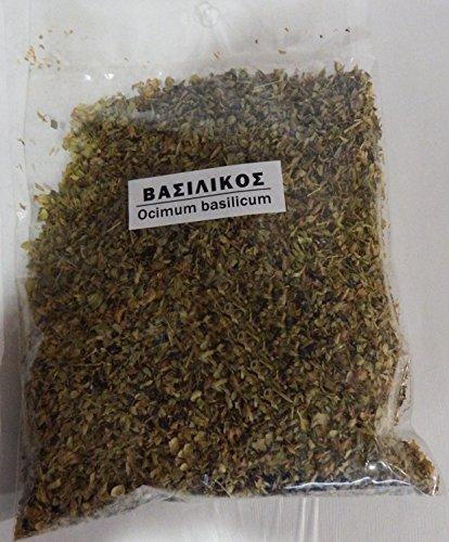 Greek Basil Ground (Ocimum Basillicum) 40g 1.41oz by Spirou