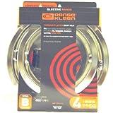 Range Kleen 11920-4X GE Drip Pans Containing 2 Units each 119A, 120A, Chrome