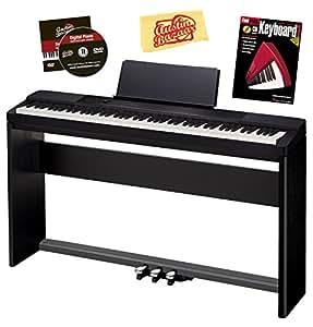 casio px 150 combo pac 1 privia digital piano bundle with casio cs 67 stand sp 33 pedal austin. Black Bedroom Furniture Sets. Home Design Ideas