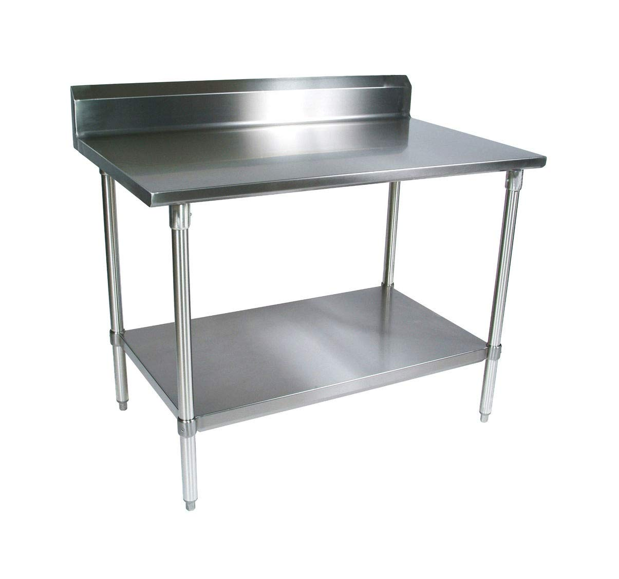 Amazon.com: L and J Stainless Steel Prep Work Table with ...