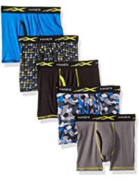 Big Boys' Active Cool X-Temp Boxer Brief 5-Pack