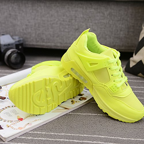 Trainers Ladies Green Fashion Lace Runners Air Up New cushion Sneakers Shoes XAqAwS