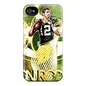 KarenWiebe Iphone 6plus Hybrid Cases Covers Bumper Green Bay Packers