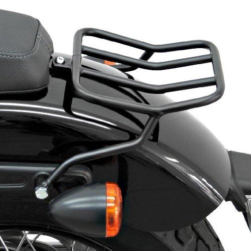 Rear rack Fehling for Harley Davidson Softail Slim (FLS) 12-17 black