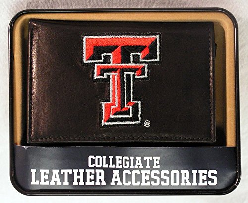 Red Raiders Embroidered Tri Fold - Rico Industries Texas Tech Embroidered Trifold Wallet