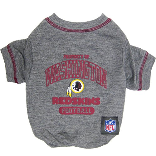 Pets First NFL Washington Redskins T-Shirt, Small